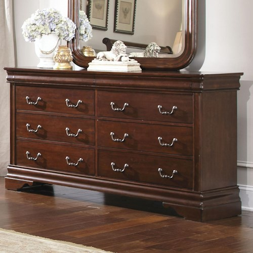Liberty Furniture Carriage Court Single 8 Drawer Youth Dresser