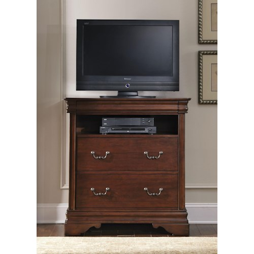Vendor 5349 Carriage Court 3 Drawer Media Chest