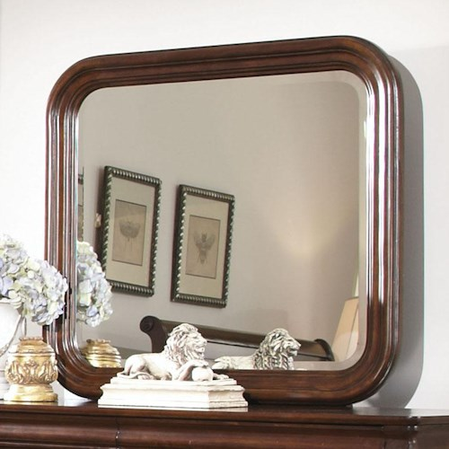 Liberty Furniture Carriage Court Beveled Edge Square Mirror