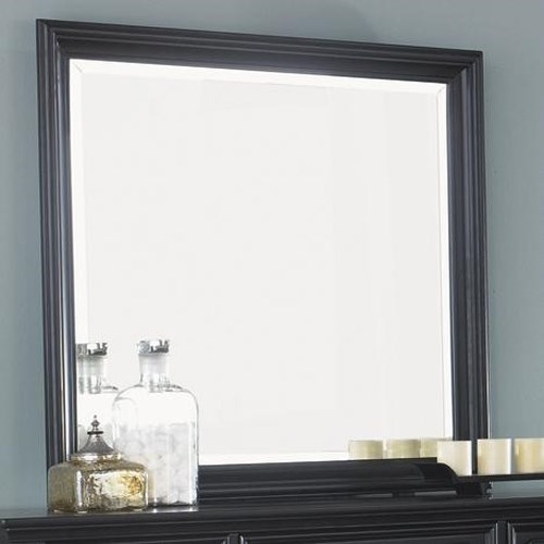 Liberty Furniture Carrington II Square/Rectangular Mirror for Wall or Dresser