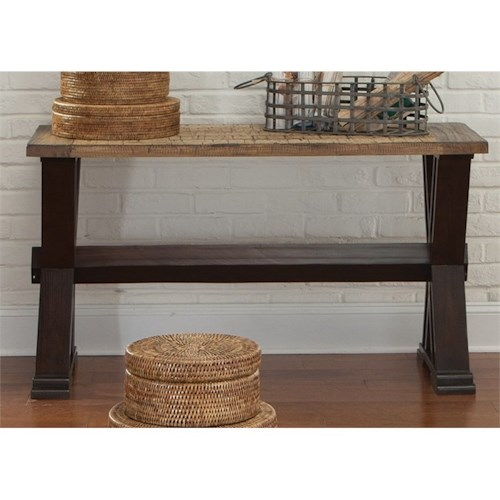 Liberty Furniture Catalina 105 Sofa Table with Trestle Base