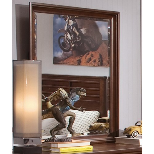 Liberty Furniture Chelsea Square Youth Beveled Vertical Mirror