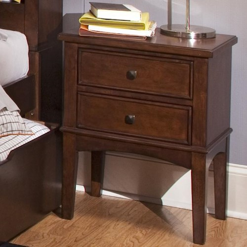 Liberty Furniture Chelsea Square Youth 2 Drawer Night Stand