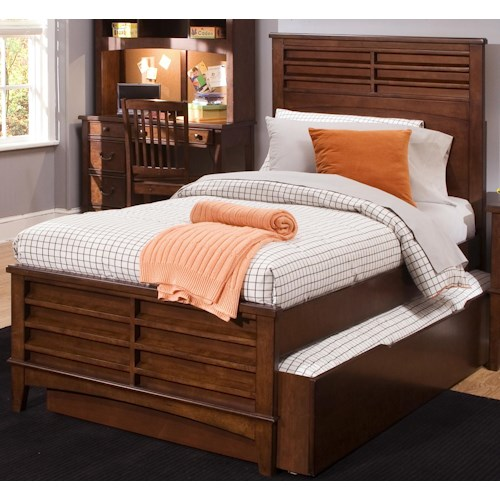 Liberty Furniture Chelsea Square Youth Twin Panel Bed