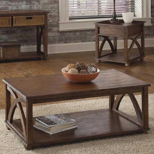 Liberty Furniture Chesapeake Bay Three-Piece Occasional Table Set