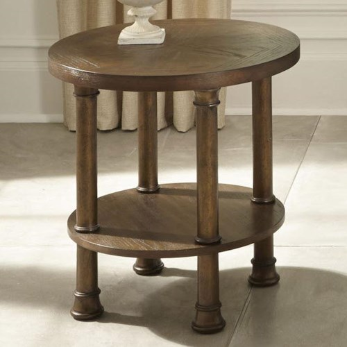 Liberty Furniture Clockworks Contemporary Round End Table