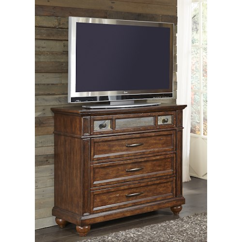 Liberty Furniture Coronado Bedroom 4 Drawer Media Chest