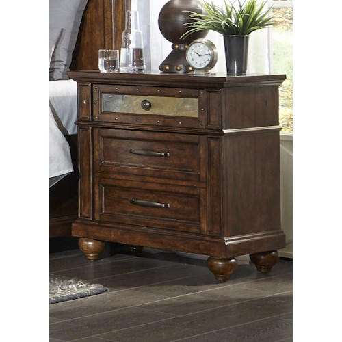Liberty Furniture Coronado Bedroom 3 Drawer Night Stand