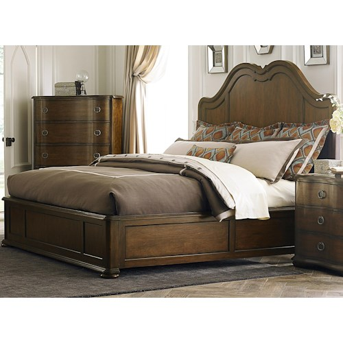 Liberty Furniture Cotswold  Transitional King Panel Bed