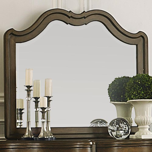 Liberty Furniture Cotswold  Transitional Landscape Mirror