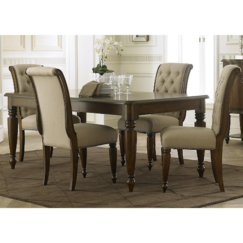 Vendor 5349 Cotswold  5 Piece Rectangular Table Set