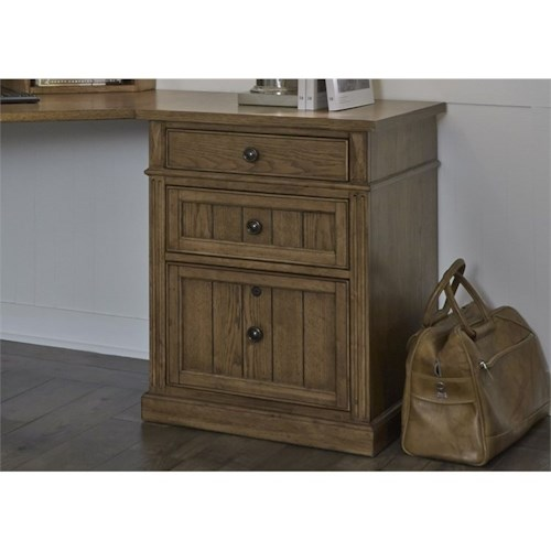 Liberty Furniture Cumberland Creek 3 Drawer File Cabinet with Bearing Glides