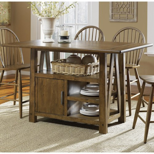 Vendor 5349 Farmhouse  Center Island Pub Table