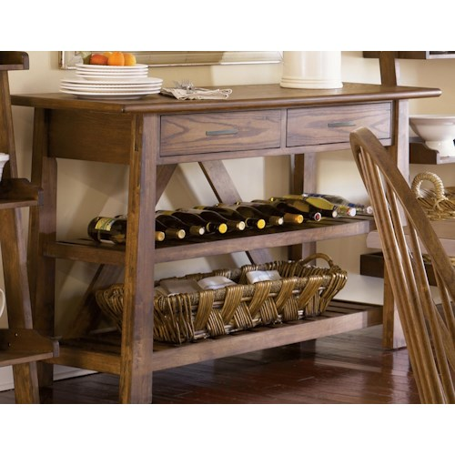 Liberty Furniture Farmhouse  Two Drawer Server