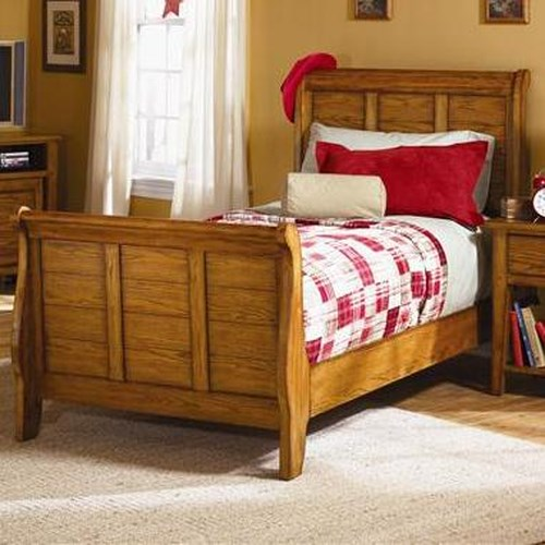 Liberty Furniture Grandpa's Cabin Casual Youth Twin Sleigh Bed