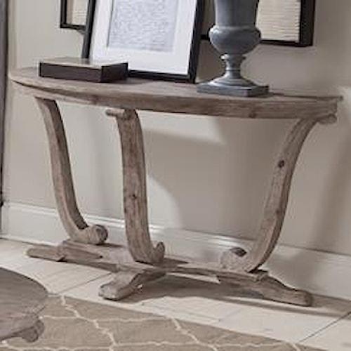 Vendor 5349 Greystone Mill Transitional Distressed Sofa Table