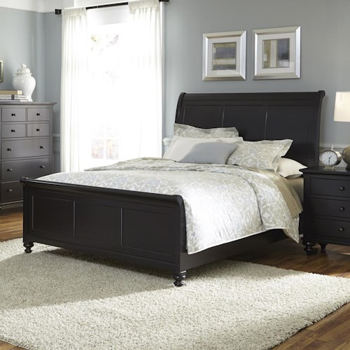 Liberty Furniture Hamilton III Transitional Queen Sleigh Bed