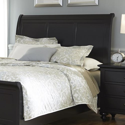 Vendor 5349 Hamilton III Transitional King Sleigh Headboard