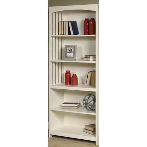 Liberty Furniture Hampton Bay - White Open Bookcase