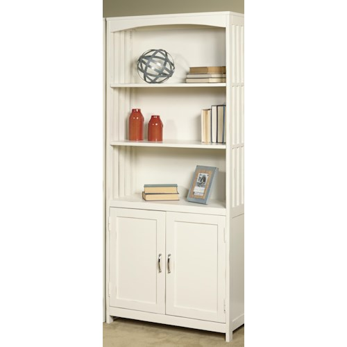 Liberty Furniture Hampton Bay - White Door Bookcase
