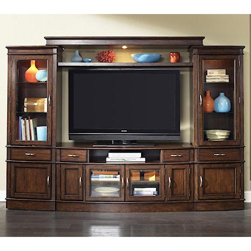 Vendor 5349 Hanover Complete TV Entertainment Center