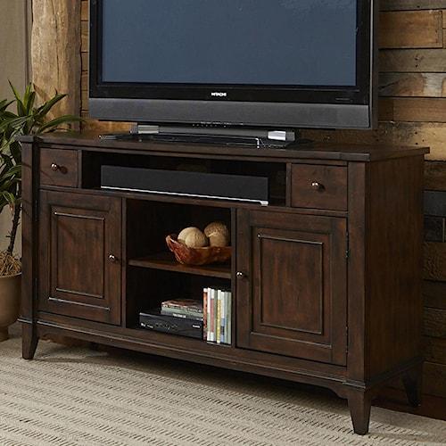 Vendor 5349 Harbor Ridge Rustic Casual TV Console