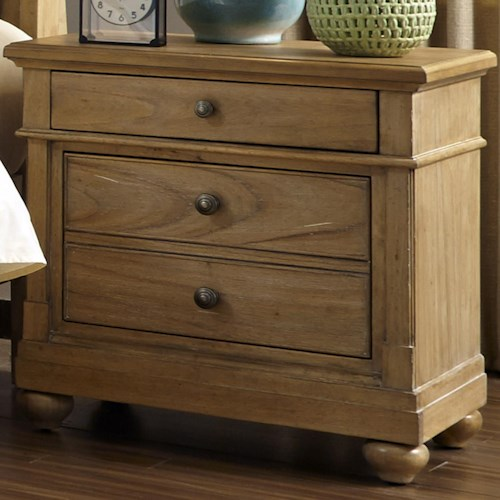 Liberty Furniture Harbor View Night Stand with 2 Drawers