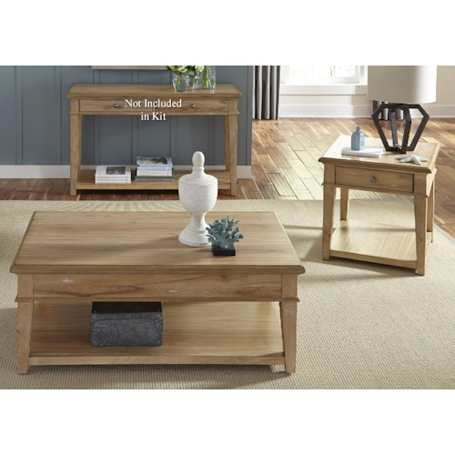Vendor 5349 Harbor View 3 Piece Occasional Table Set