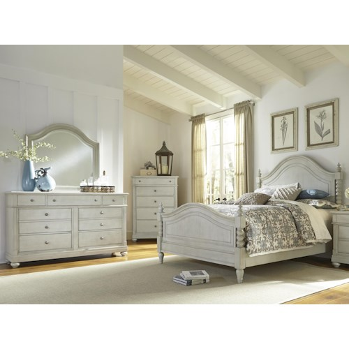 Vendor 5349 Harbor View Queen Poster Bedroom Group