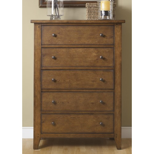 Liberty Furniture Hearthstone Five-Drawer Chest