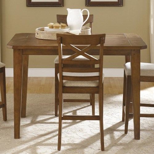 Liberty Furniture Hearthstone Gathering Table with 18