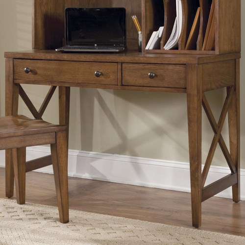Liberty Furniture Bunker Hill Writing Desk with Drawers