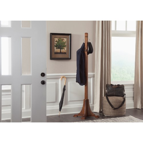Liberty Furniture Hearthstone Mission Style Hat Rack