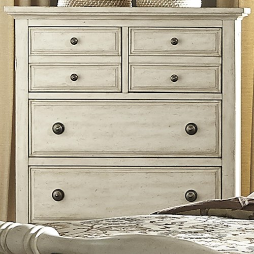 Liberty Furniture 697-BR Transitional 5 Drawer Chest