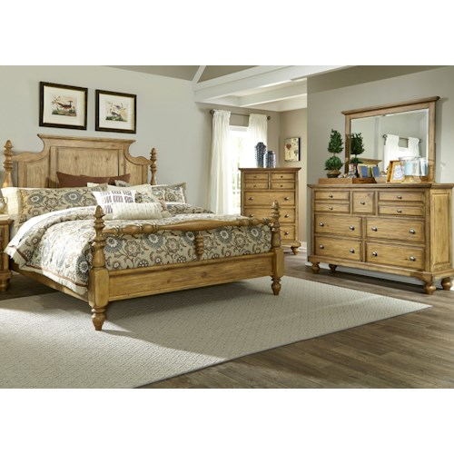 Liberty Furniture High Country Queen Bedroom Group