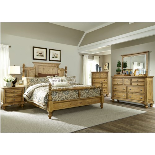 Liberty Furniture High Country King Bedroom Group