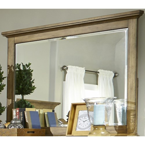 Vendor 5349 High Country Transitonal Landscape Mirror