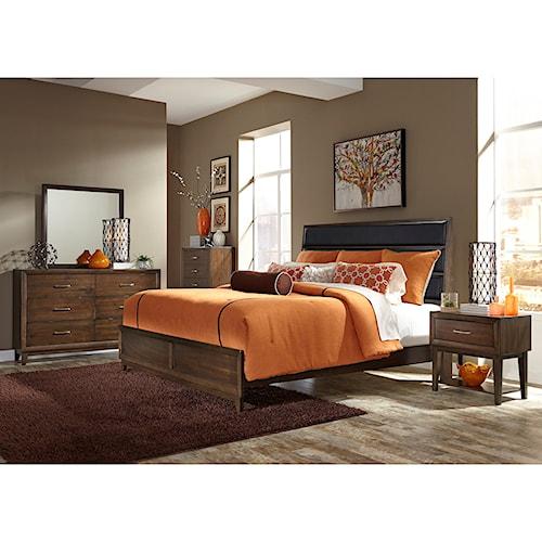 Vendor 5349 Hudson Square Bedroom King Bedroom Group