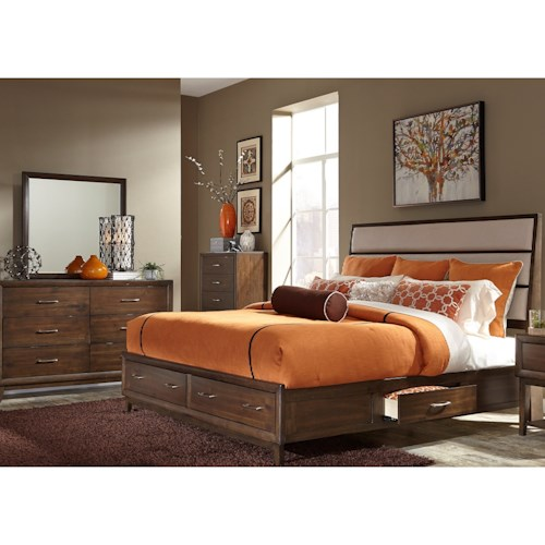 Liberty Furniture Hudson Square Bedroom Queen Bedroom Group