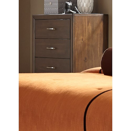 Liberty Furniture Hudson Square Bedroom 5 Drawer Chest with Full Extension Glides