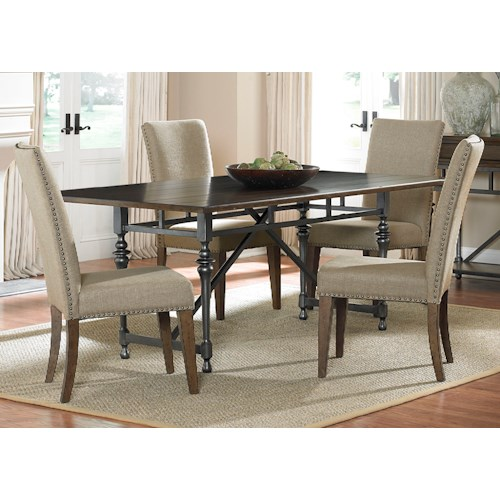 Liberty Furniture Ivy Park 5 Piece Rectangular Table Set