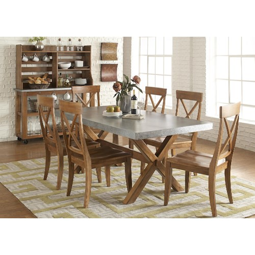 Liberty Furniture Keaton Dining Room Group 1