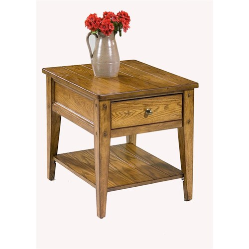 Liberty Furniture Lake House 1-Drawer End Table