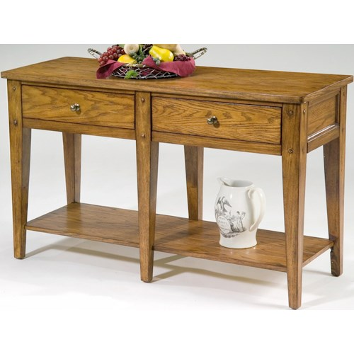 Liberty Furniture Lake House Occasional Sofa Table