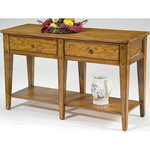 Vendor 5349 Lake House Occasional Sofa Table