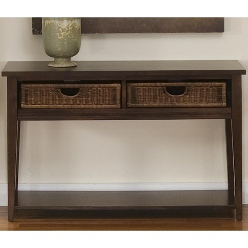 Liberty Furniture Lakewood Occasional Sofa Table