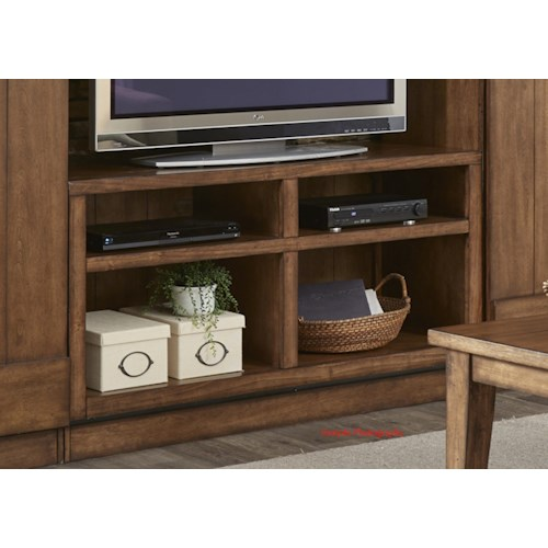 Vendor 5349 Lancaster Entertainment TV Stand with Wire Management