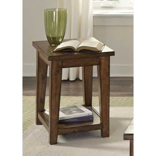 Vendor 5349 Lancaster II Occasional Chair Side Table