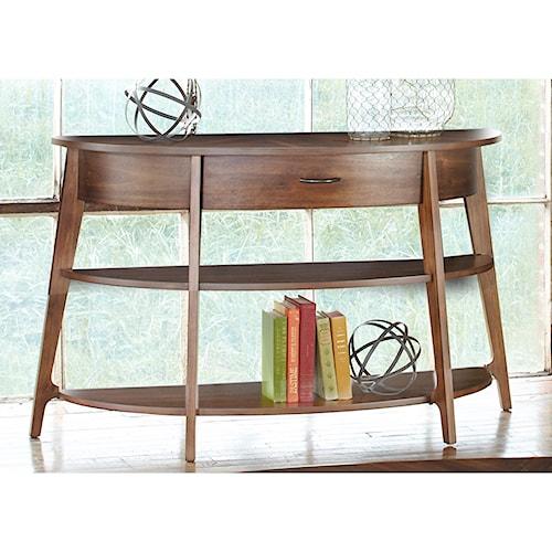 Liberty Furniture Landon Occasional Demi-Lune Sofa Table