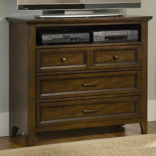 Liberty Furniture Laurel Creek 3-Drawer Media Chest